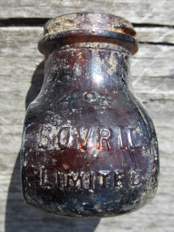 Bovril meat extract jar from about 1940?