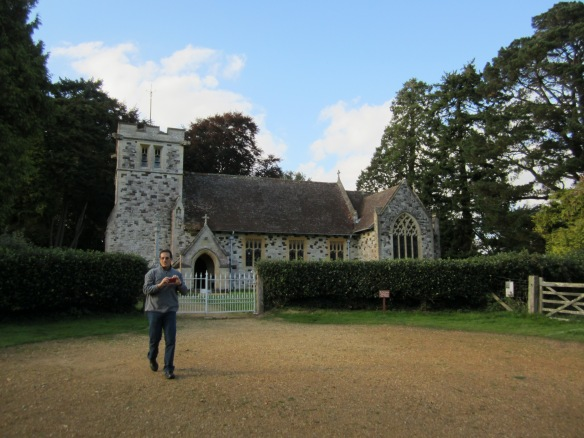 John Mandel at St Stephens church Sept 2012