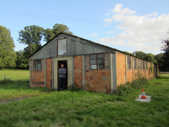 The 10 bed isolation ward building