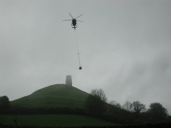 The Royal Navy transport of conservation materials to the summit 2003