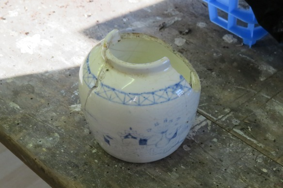 Small 19th century ginger jar