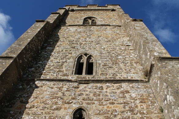 The tower from the south side.