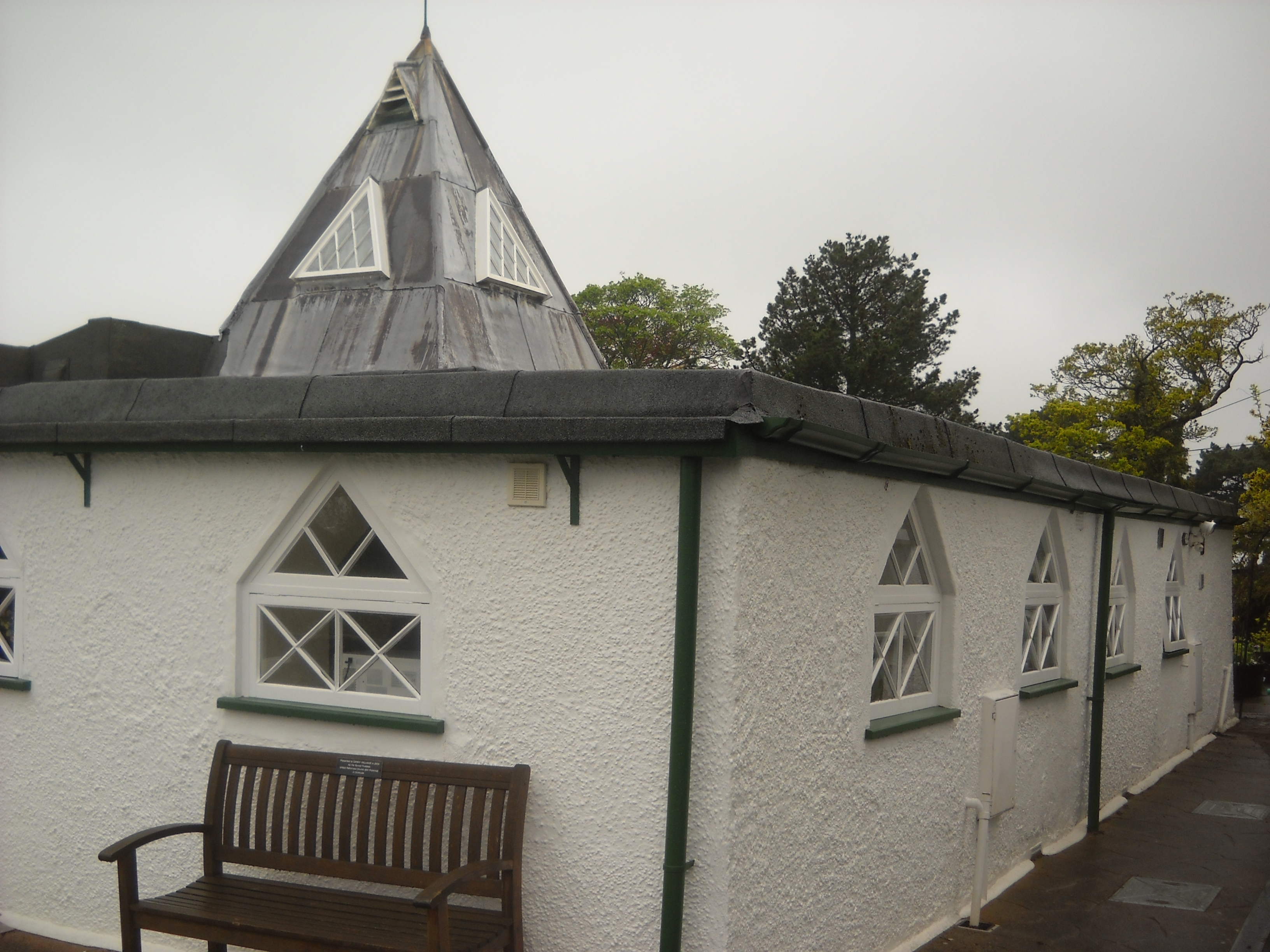 The Chapel built for the Parminters just up the road.