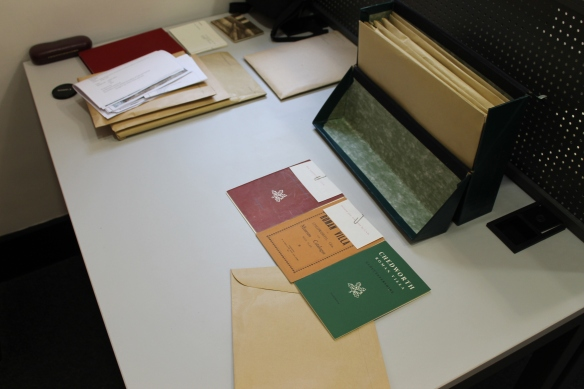 Part of Sir Ian Richmond's archive within the Sackler Library his and Eve Rutter's notes in guide bookss from 1924, 1955 and 1963, notebooks, correspondence and drawings.