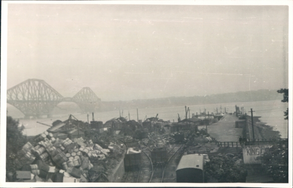 The Forth bridge across the Firfth of Forth