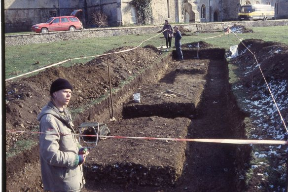 A new sewage treatment plant was needed at Lacock, Wiltshire. The site of the medieval monastic infirmary lies in this area and so AC Archaeology excavated it in 1996. Further work is needed this year.