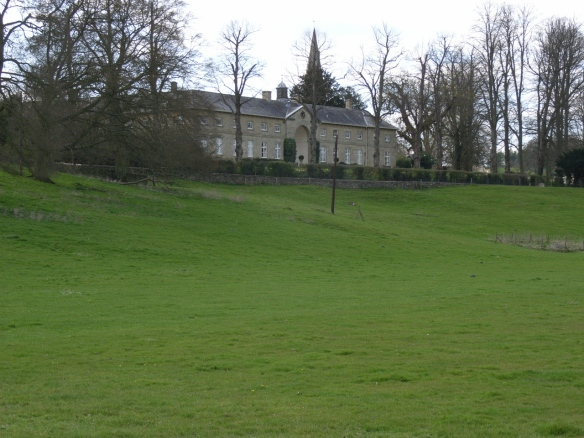 The grand stable block for Sherborne House (not NT), once the centre of the Sherborne Estate.