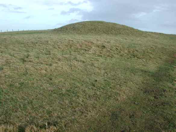 The Tulks Hill barrows near Abbotsbury Castle.
