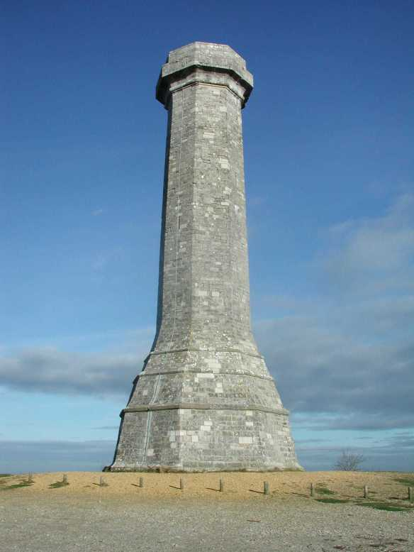 Hardy's Monument. The highest point on the Ridgeway.
