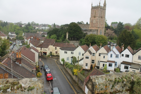 Westbury upon Trym church today but the original Saxon minster may lie under Westbury College.