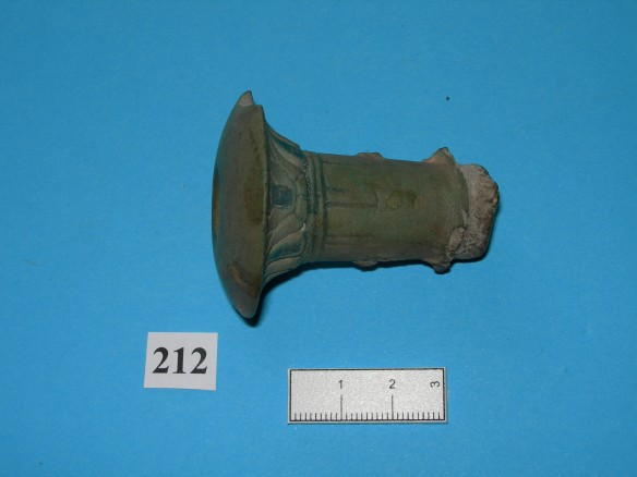 A piece of Egyptian pottery found at Kingston Lacy