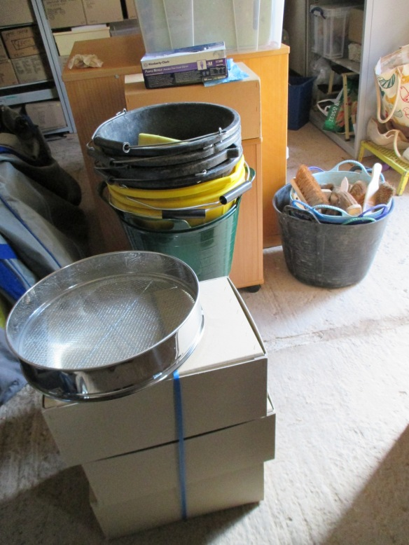 lots of buckets
