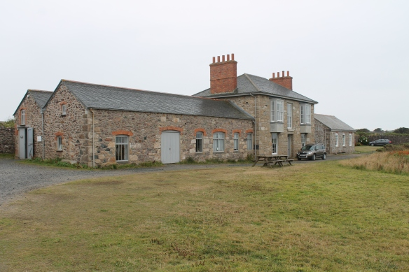 A more polite building to one side of the mine workings. The Botallack 'count house' short for accounts house or counting house. It was a more polite building where the management and administration of the mine took place. It was where the 'adventurers' or investors/shareholdes in the mine would meet.