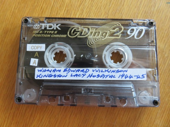 A cassette tape