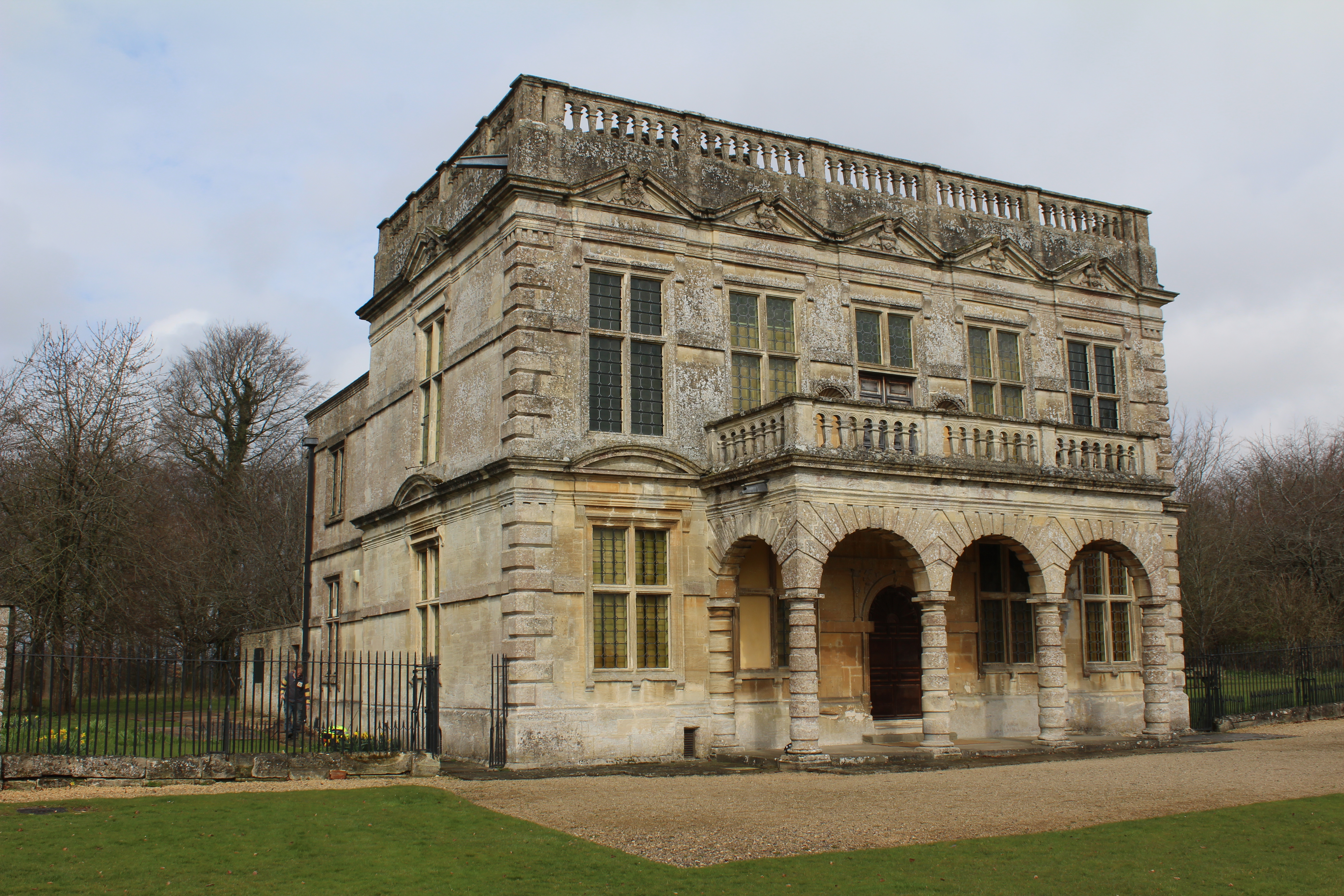 Lodge Park On The Sherborne Estate Gloucestershire This Is John Duttons Grandstand Where He