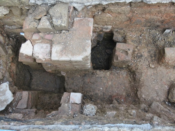 Two other areas were excavated to check the floor carried on at the opposite end of the trench and it did