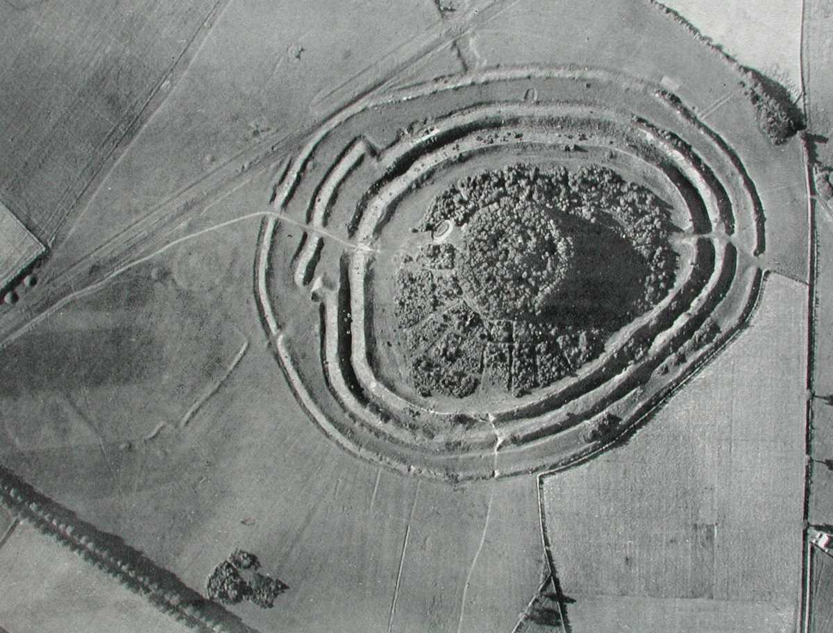 Badbury Rings Roman Road
